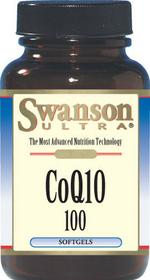 SWANSON Koenzym Q10 100 mg 30 kaps. żelowych