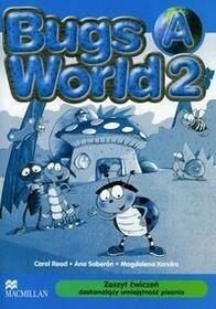 Macmillan Bugs World 2A Zeszyt ćwiczeń doskonalący umiejętność pisania - Read Carol, Ana Soberón, Magdalena Kondro