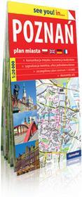 ExpressMap praca zbiorowa see you! in Poznań. Papierowy plan miasta 1:20 000