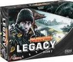 Lacerta Pandemic Legacy Pandemia Sezon 2 Edycja czarna