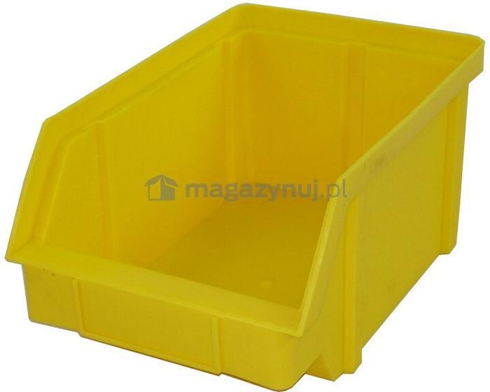 Artech pojemnik warsztatowy z polipropylenu standardowego, wym. 440 x 285 x 210 mm (Kolor szary)