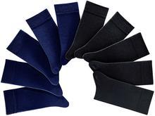 Bonprix Skarpetki H.I.S (10 par) czarno-ciemnoniebieski