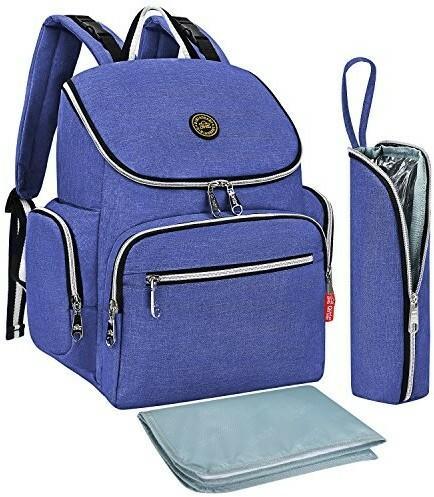 S-ZONE S-Zone wielofunkcyjna torba Baby torba na pieluchy worek plecak z nakładką rodzaje ścieżek i poruszających się kompaktowy  D04V846D