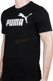 Puma Koszulka Essential No.1 Tee czarna)