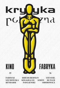 Wydawnictwo Krytyki Politycznej Krytyka Polityczna 35-36: Kino-fabryka