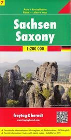 Freytag&Berndt Niemcy część 7 Saksonia mapa 1:200 000 Freytag & Berndt