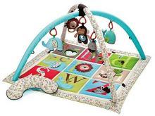 Skip Hop Mata edukacyjna Alfabet - mata dla niemowląt, 17 wariantów zabawy, 307300