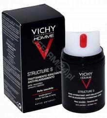 Vichy Homme Structure S ujędrniający krem nawilżający dla mężczyzn 50 ml
