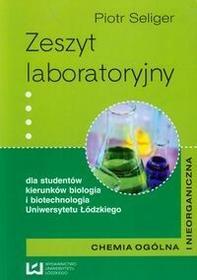 Zeszyt laboratoryjny Chemia ogólna i nieorganiczna