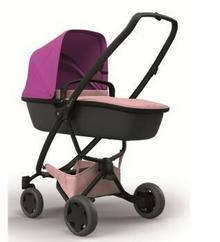 Quinny Wózek głęboko-spacerowy 2w1 Zapp Flex Plus różowy