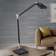 Orion Lampka biurkowa LED Dave, czarna, ładowanie QI
