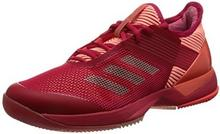 Adidas Damskie buty do adizero Uber Sonic 3 W Tennis - różowy - 40 EU B071XCJ9SC