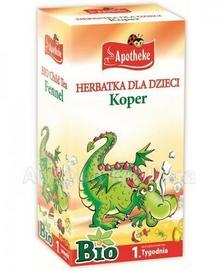 Apotheke BIO Herbatka dla dzieci koper 20 sasz