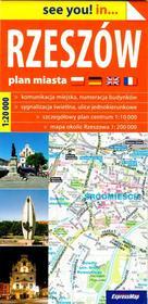 ExpressMap see you! in... Rzeszów. Plan miasta 1:20 000 praca zbiorowa