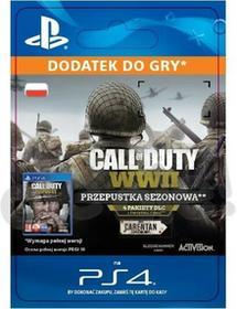 Sony Call of Duty WWII season pass [kod aktywacyjny]
