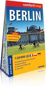 ExpressMap praca zbiorowa comfort! map Berlin. Kieszonkowy, laminowany plan miasta 1:20 000