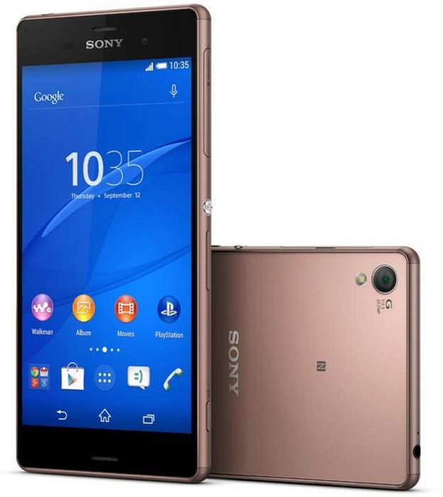 Sony Xperia Z3 16GB Dual Sim Miedziany