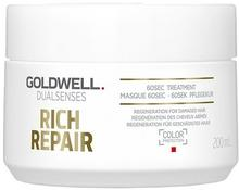 Goldwell Dualsenses Rich Repair, kuracja do włosów zniszczonych, 200 ml