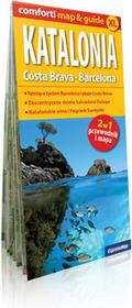 ExpressMap praca zbiorowa comfort! map&guide XL Katalonia Costa Brava, Barcelona 2w1. Laminowany map&guide XL 1:300 000