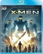 X-Men Przeszłość która nadejdzie 3D Blu-Ray + Blu-Ray 3D