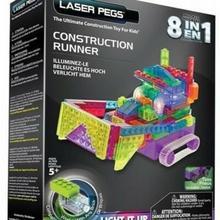 Laser Pegs  8 in 1 Construction Runner RN2170B