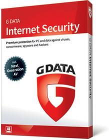 G Data Internet Security 2PC/1rok Odnowienie 2018