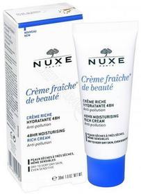 Nuxe Creme Fraiche de Beaute krem nawilżający do twarzy o bogatej konsystencji 30 ml nowa formuła