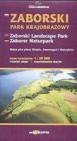 CartoMedia Zaborski Park Krajobrazowy mapa 1:50 000 CartoMedia