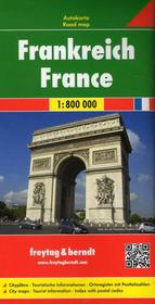 Freytag&Berndt Francja, 1:800 000