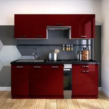 CLASSEN Zestaw mebli kuchennych ROSA2 kolor Bordowy CLASSEN