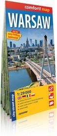ExpressMap praca zbiorowa comfort! map Warszawa (Warsaw). Laminowany plan miasta
