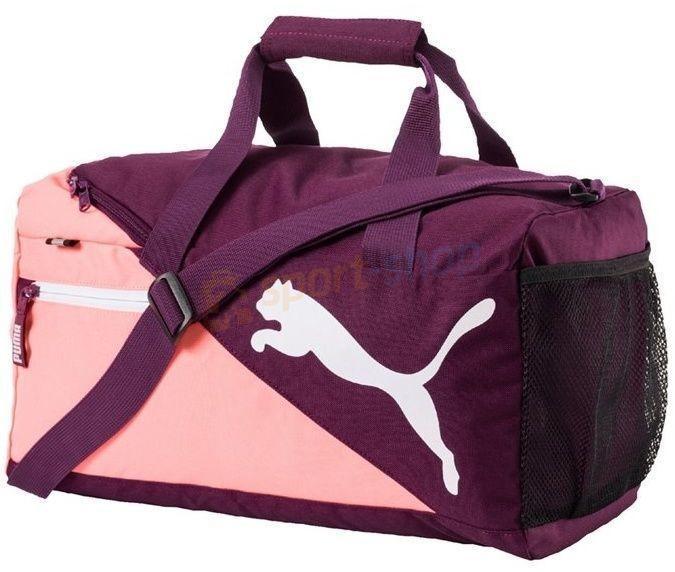2ad2e1880f00d Puma Torba Fundamentals Sports Bag XS 18L fioletowa) 12h - Ceny i ...