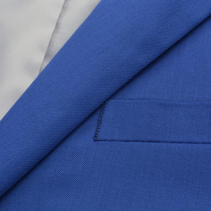 a7ef9f60eef662 vidaXL Garnitur męski dwuczęściowy, błękitny, rozmiar 54 – ceny ...