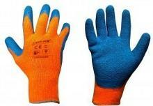 LAHTI PRO Rękawice ochronne ocieplane powlekane lateksem pomarańczowe rozmiar 10 L250210K LPL250210K
