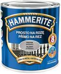 Hammerite Farba do metalu Prosto Na Rdzę połysk srebrny 0 7 l