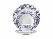 THK Elegancki serwis obiadowy MAISON 30 elem porcelana