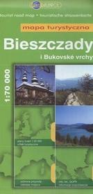 Daunpol  Bieszczady i bukovske vrchy Mapa turystyczna