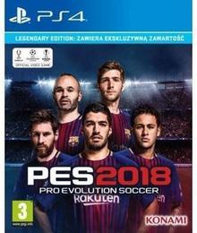 Pro Evolution Soccer 2018 Edycja Legendarna PS4