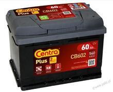 Centra Plus P+ 60Ah/540 CB602