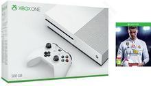 Microsoft Xbox One S 500GB Biały + FIFA 18 + Pad