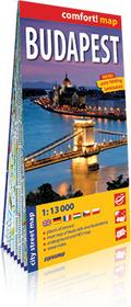 ExpressMap Budapest mapa 1:13 000 - Praca zbiorowa