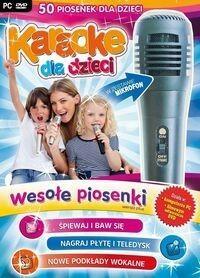 Karaoke Dla Dzieci Wesołe Piosenki z mikrofonem L.K Avalon