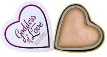 MAKE UP REVOLUTION I Heart Makeup Blushing Hearts Rozświetlacz do twarzy Goddess of Faith 10g