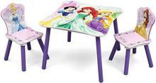 Delta Disney Księżniczki Drewniany Stolik i 2 krzesełka dla dzieci TT89511PS