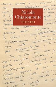 Słowo / obraz terytoria Notatki - Nicola Chiaromonte