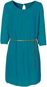 Bonprix Sukienka niebieskozielony