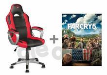 Trust Fotel dla graczy TRUST GXT 705 Ryon + voucher Far Cry 5
