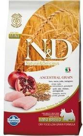 Farmina N&D Low Grain CHICKEN&POMEGRANTE adult small 14 kg