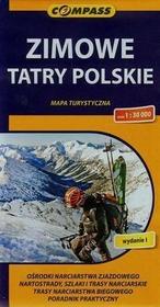 Wydawnictwo Compass Zimowe Tatry Polskie mapa turystyczna 1:30 000 - Compass