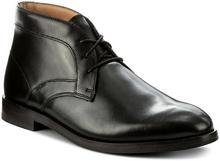Clarks Trzewiki Corfield Mid 261272067 Black Leather